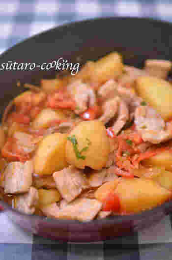 煮込み料理も得意な無水鍋。香味野菜の香りも溶け込んで、大人はもちろん子供も食べやすい一品です。