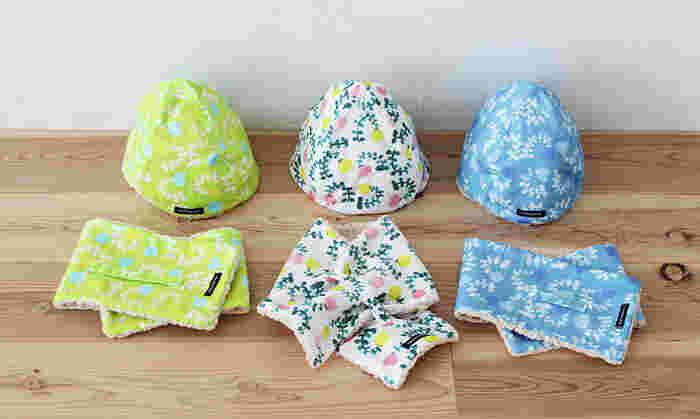 子どもの頭のサイズは体と同じように、成長とともに少しずつ大きくなっていきます。そのため、頭のサイズ(頭囲)を意識して帽子を選ぶことが大切なんです。 通販の帽子には、たいて頭囲のサイズ表記が添えてありますよ。