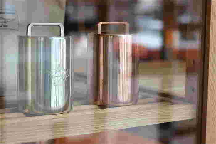 画像は近年、登場したコーヒー缶。パスタ缶やキャンドルスタンドも作られています。