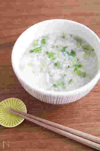 年明けの七草がゆも、こだわりレシピで丁寧に作りたい。古き良きを感じるおいしいメニューです。