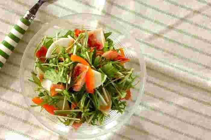 香味野菜のニンニク・ショウガを使ったスタミナドレッシングは、どんな食材とも馴染みやすくしっかりと旨味を引き出してくれます。<香味ドレッシング>を作って保存しておけば、さまざまな料理に使うこともできて便利です◎