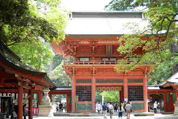 「鹿島神宮」は、日本建国・武道の神様である「武甕槌大神(タケミカヅチ)」を御祭神とする神社で、紀元前660年に創建されたと言われる由緒ある神社です。