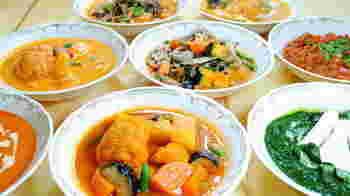 ナタラジのすごいところは、すべてのメニューを野菜・豆類・大豆ミートなど植物性の素材を使って作られているところ! こんな本格的なインド料理をオーガニックで楽しめるレストランはなかなかありませんよね!