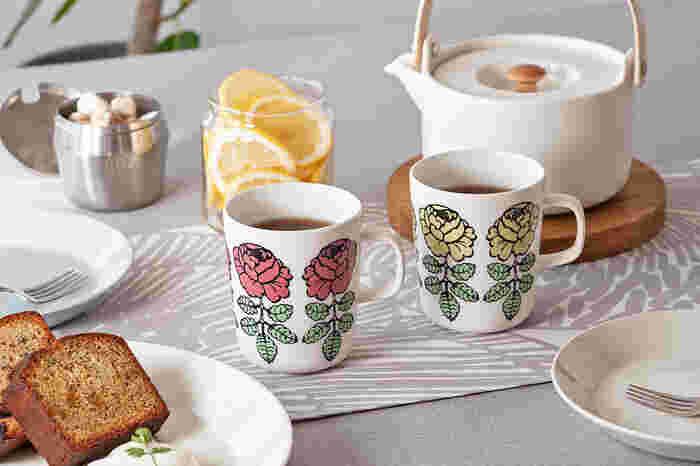 仕事や家事の合間のティータイム。そんな幸せなひとときをもっと特別にしてくれるのが、素敵なマグカップです。