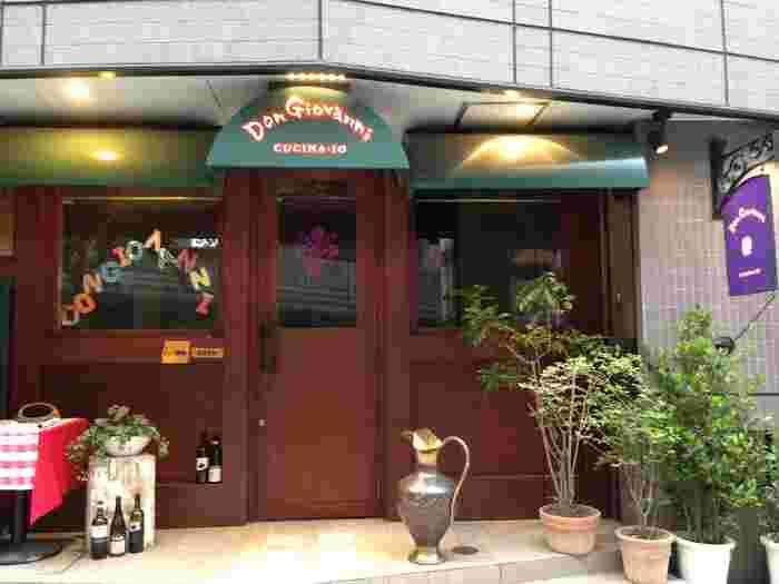 東京・渋谷にほど近い池尻大橋にひっそりと佇む『Don Giovanni(ドン・ジョバンニ)』。伝統的なイタリア・フィレンツェの味が楽しめる、隠れ家的レストランです。