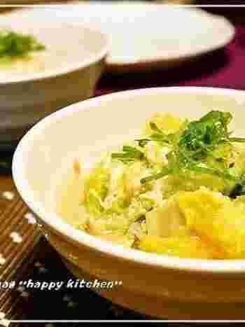 さっとできてこんなに美味しい!白菜の大量消費にもってこいな、優しい味わいの絶品おかず♪