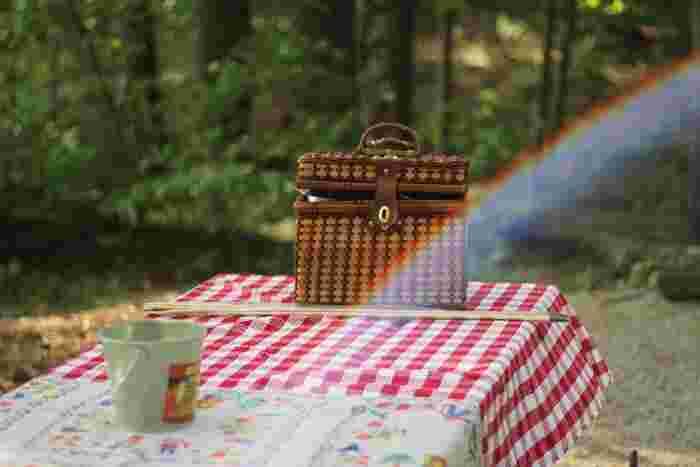 日差しが暖かくて、爽やかな風が気持ちがいい日曜日。さあ、外の空気を吸いに出かけませんか?手軽なランチをランチボックスに詰めて出発!たまには、そんな思いつきのピクニックも楽しいですよ。
