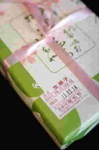 お花見の時期には飛ぶように売れる長命寺桜もち。添加物不使用なので日持ちはその日限りです。また、予約優先でテイクアウトのみとなります。