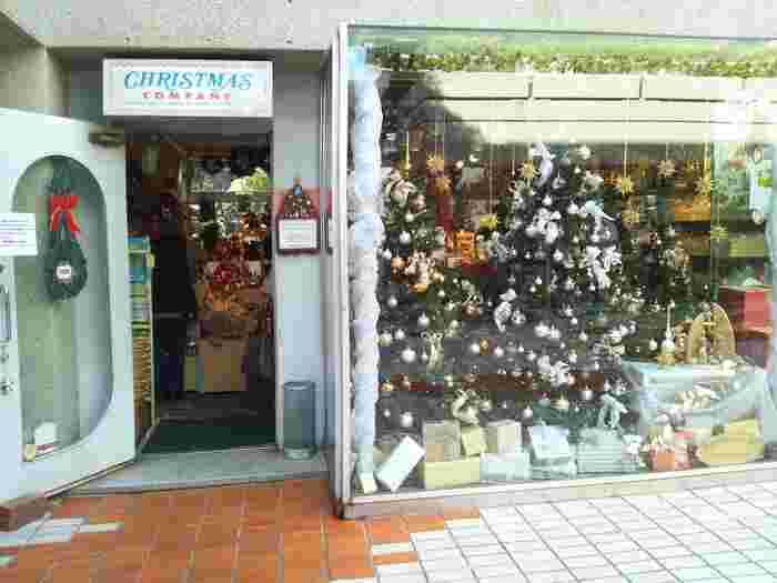 クリスマス雑貨の専門店といえば、代官山にある『クリスマスカンパニー』が有名です。 「364日がクリスマス・イブ」をテーマに、1年中クリスマスアイテムを揃えています。