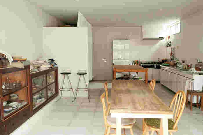 愛知県にある冨田さんの作業場。ここで心と体にやさしく美味しいお料理が日々生み出されています