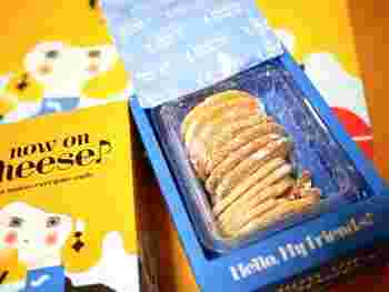 クッキーはゴーダチーズ&チェダーチーズ、カマンベール&ブラックペッパーなどおつまみにしたくなるフレーバーがそろっています。それぞれの箱には、相性抜群のナッツやクランベリーが入っているのもナウオンチーズならでは。一緒に頬張れば、チーズの塩気と甘酸っぱさ、香ばしさが口いっぱいに広がります。