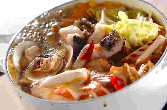 《海鮮鍋》魚介であったか冬の鍋レシピまとめ