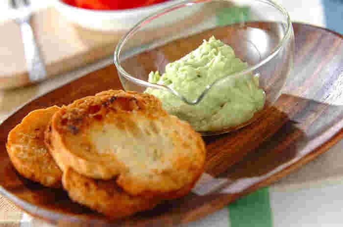 アボカドを使ったディップは鉄板ですね。 野菜や魚介につけたいときにもおすすめ。