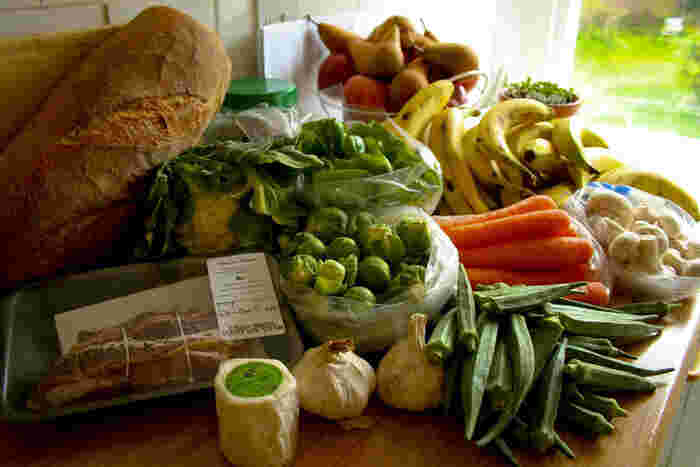 その名の通り、ファーマーズマーケットのように地元の農家から仕入れた食品やサプリメントを販売するオーガニックスーパー。価格帯もWhole Foods Marketよりお手ごろなのも嬉しいポイント。