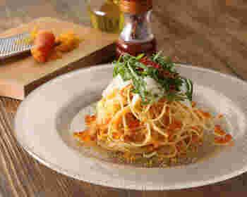 パスタやピッツァを中心としたイタリアンから、和食やお寿司など、サクラダイニングならではの様々な美味しい料理がいただけるのがうれしいですね。