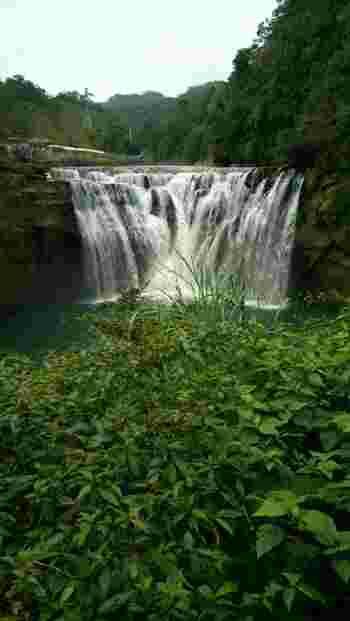 また、十分には、マイナスイオンが存分に浴びられる「十分瀑布」もあります。  台北のビル密度に疲れたらぜひ時間をとって訪れてみてくださいね。