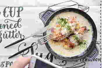 とっても簡単に作れちゃう、ブリの味噌クリーム煮込み。味噌のコクと生クリームの濃厚さが合わさってとっても美味!とろみがつくまでしっかりと煮込むのがポイントですよ。