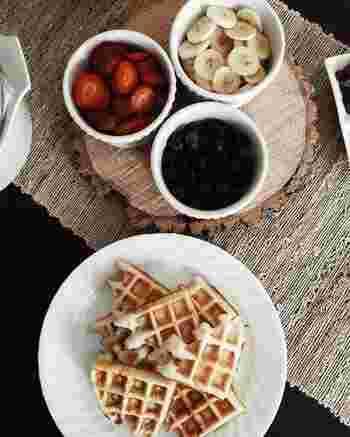朝食・おやつ・キャンプを楽しく!おすすめの「ワッフルメーカー」&アレンジレシピ