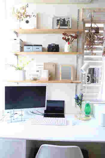 仕事や家事はもちろん、頭の中を整理したり気持ちを落ち着けたり。自分専用の場所があると、お部屋の居心地は随分変ります。