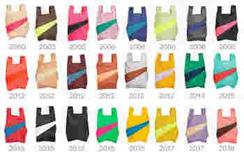 魅力はなんといっても、豊富な配色パターン。「Forever」という定番色の他、毎年配色が変わり生産が1年限定で切り替わるコレクションラインがあります。 2020年のテーマは「Recollection」。過去20年で作られた膨大な中から、デザイナー本人の好みでピックアップしたものです。過去に買い逃してしまったカラーがあるかもしれませんよ♪