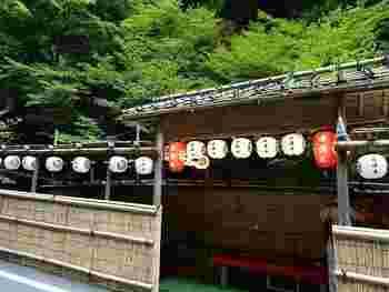 昭和37年創業の「貴船 右源太」。貴船神社の社家を努めてきた鳥居家により始められました。