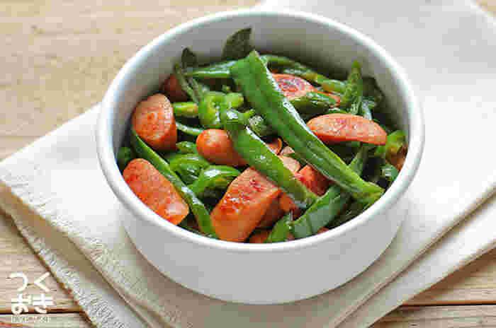 夏野菜の中でも、特に栄養価が高いのがピーマン。ビタミンA、C、Eを多く含み、加熱しても栄養素が壊れにくいとい、うれしい特徴があります。作り置きしやすいレシピが多いので、旬の時期にたくさん食べてたいですね。