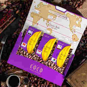 京都の西大路御池にあるローチョコレート、ビーントゥバー専門店「COCO」。地元、京都の宇治茶や白味噌、京都丹波のワイン、黒豆や栗などの京都産の最高級の食材と世界中から集めた最高のカカオ豆などで作るチョコレートは、フルーツや羅漢果など天然の甘みで、お砂糖を使わず、グルテンフリーで食品添加物無添加のヘルシーなチョコレートに仕上がっています。