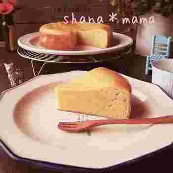 とっても簡単なスイートポテトケーキ。さつま芋をレンジでチンしたら、混ぜて焼くだけです!フードプロセッサーなどを使えばさらに楽チン♪