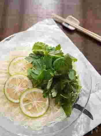 マンネリも解消!栄養もとれて15分以内でできる【冷たい素麺のアレンジレシピ】