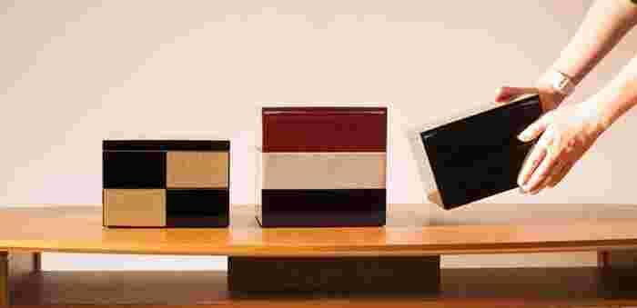 シンプルでモダンなデザイン、使い勝手も良く、普段使いもでき、しかも高級感もある。そんな、使う側にとって理想的な重箱がこちらのJDS(日本デザインストア)オリジナルの重箱です。