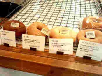 どれも200円以下のラインナップで、和三盆、黒ゴマ、きなこ、サツマイモなど…。和の風味を美味しく生かしたラインナップ。