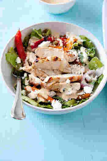 いかがでしたか?一皿に、おいしくい栄養がたっぷりつまったパワーサラダ。おうちにあるあまり野菜などを利用して作ってもいいですよね!タンパク質となる卵やお肉が入る事で、ボリュームも満点!忙しい朝に、一皿で栄養がとれちゃうところも、とっても魅力的ですよね。