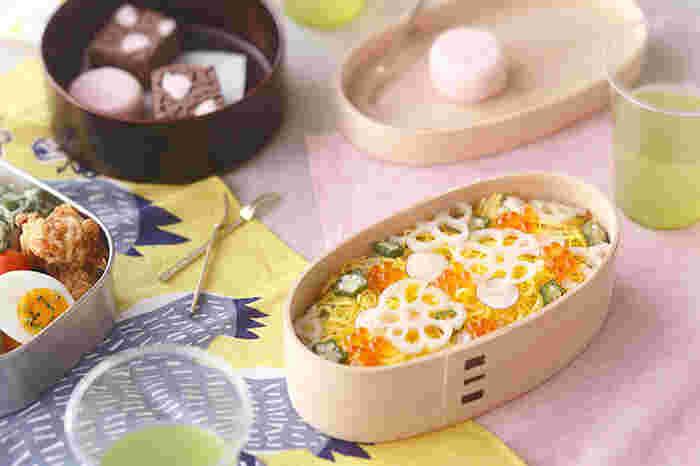 吸湿性&調質性も抜群で、ご飯のおいしさを損ないません。大きさは、小中の2サイズ。毎日お弁当を持参している方へのプレゼントにいかがですか?