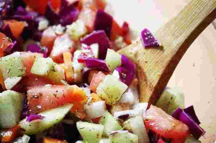鮮やかな色彩なので、絵になり食欲をそそる鎌倉野菜。