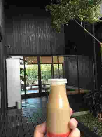温泉のあとはコレコレ!という方には、こちら。コーヒー牛乳もありますよ♪