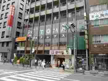 目印は、大きく書かれた「アンデス」の文字です。練馬駅中央口降りたら、右手すぐの2階にあります。入り口からしていかにも喫茶店!という雰囲気です。