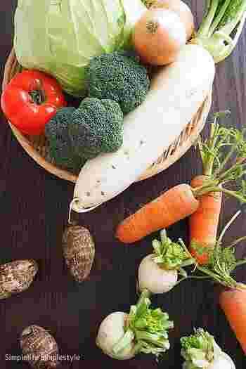 スーパーでお得に買ったり、いただいたり、1度になかなか使いきれない野菜たち。みなさんはどうしていますか?
