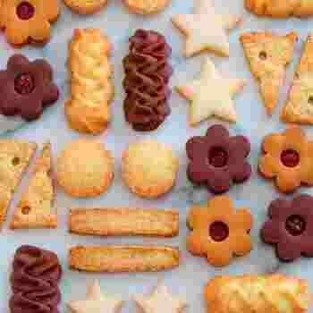 はじめはクッキーなどの焼き菓子がおすすめ。他のお料理と違って分量さえしっかり守って焼き加減に注意すれは、比較的手軽にできちゃうのが焼き菓子のいいところ。
