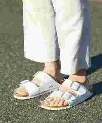 BIRKENSTOCKやTeva、Chaco…など履きやすさ抜群のコンフォートサンダルやスポーツサンダル、アウトドアサンダルたち。今年の夏もたくさん活躍してくれたのではないでしょうか?