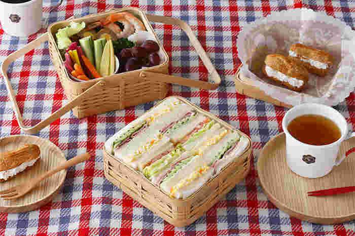 いつものお弁当も、入れ物が変わればまるで別のお弁当のように早変わり。ちょっとした気分転換にお弁当箱のチェンジをしてみませんか?
