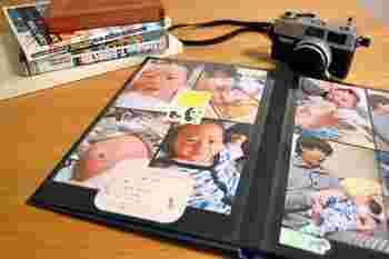 最近のスクラップブックといえば、旅の写真や子供の可愛い写真を思い出とともにデコレーションしていくものが主流になっています。