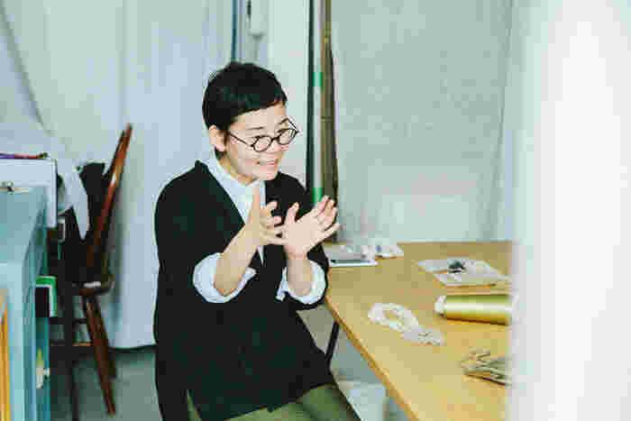 """vol.83 fua accessory・木村久美子さん -""""時""""を編み、受け継がれるジュエリー"""
