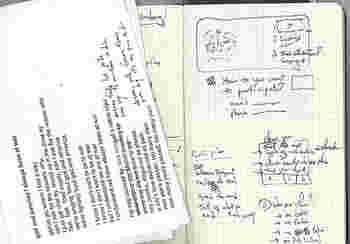 旅ノートにおすすめなのは、ポケットサイズのスクエアード(方眼)。スケッチにもメモにも使いやすい5ミリの方眼(グリッド)入りです。
