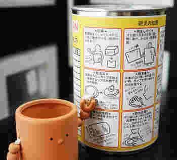 緊急時の防災の知恵もわかりやすくイラストで説明されています。この防災缶は作者さん自身が東日本大震災で被災した経験があり、防災を身近に感じて欲しいという思いから作ったのだそう。ぜひ常備しておきたいですね。