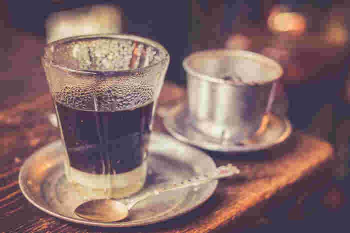 淹れ方や、コーヒーや練乳の量、コーヒー豆の種類でもすこしずつ味が変わってくるので、あなたのお気に入りを探してみてくださいね♪