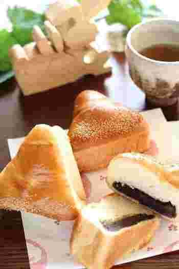 誰しもが大好きな栗あんぱんレシピ。よく捏ねたもちもちふわふわなパン生地とほくほくのあんこは相性抜群です!
