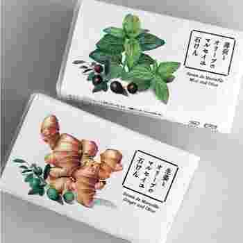 「しょうが百花」のマルセイユ石けんは、オレイン酸が豊富なオリーブオイル入り。汚れをしっかり落として、肌本来の保湿機能を正常に保つサポートをしてくれます。天然成分100%。