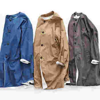 昼間は暖かかったのに、夜は冷え込んだり…。 冬から春にかけては気温差が激しくて、コーデを決めるのも難しいですよね。そんな時は、さっと羽織れるスプリングコートや軽くて薄手のアウターが頼りになります!  どうせなら、合わせやすくて自分に似合う一枚が欲しいですよね。迷った時は、ショートかロングか着丈を先に決めてあげると選びやすくておすすめです。