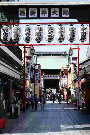 商店街探索を終えたら西新井大師へ足を延ばして、門前町散歩も楽しいですよ♪