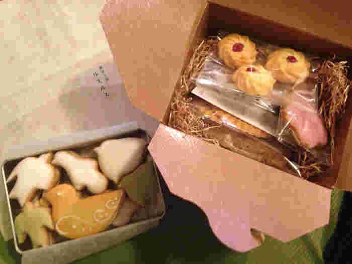 東麻布・浅草に店舗を構える「菓子工房ルスルス」は松屋銀座にも入っています。特に人気なのが、クッキー。どこか懐かしく、かわいらしいルスルスの焼き菓子は、どれも持って帰りたくなるほど。素朴で優しい甘さが大人気です。